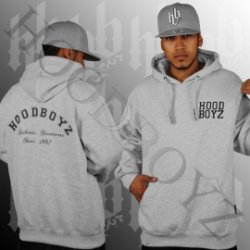 Hoodboyz Basic Hoodboyz Logo Hoody Heather Grey nur 9,90 zzgl. Versand (3,90)