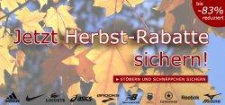 Jetzt Herbst-Rabatte sichern: Schuhe und Bekleidung bis zu 83% reduziert bei SP24.com