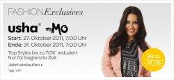Kleidungssale: usha und myMO bis zu 70 % Rabatt