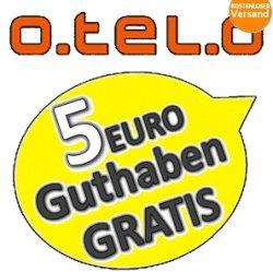 KOSTENLOS: otelo Vodafone Prepaid mit 5 EURO Guthaben