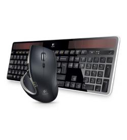 Logitech Wireless Solar Keyboard K750 & Performance Mouse bundle für 109€