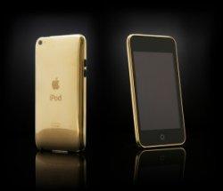 Nicht nur für Snobs. Veredel dein IPHONE 69€ statt 249 € – Luxus für Dein iPhone oder iPod: Veredelung mit Gold (24 Karat)