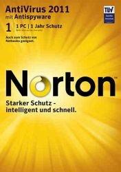 Norton 2011 mit Upgrade auf 2012 nur 9,99€ (1 User Lizenz)