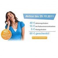 NUR NOCH bis Dienstag: 60 Euro geschenkt für den 0,- Euro simply.de Prepaid Tarif mit 50MB Surfvolumen