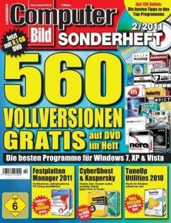 Sonderheft mit 560 Vollversionen von Computerbild für 7,90 € ohne Versandkosten