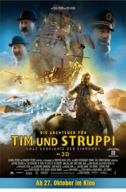 """""""Tim und Struppi"""" gratis in 3D!"""