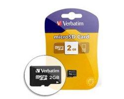 Verbatim Highspeed micro SD Card,2GB für 0,97 Euro!!! bei druckerzubehoer.de