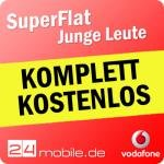 """Vodafone SuperFlat für """"junge"""" Leute KOMPLETT KOSTENLOS"""