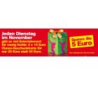 Zwei 15€-iTunes-Karten für nur 25€ – jeden Dienstag im November bei Penny