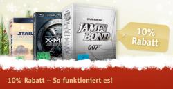 10% auf ALLE Filme (BR, DVD etc.) bei buch.de