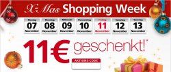 11 Euro Gutschein Abzug bei Neckermann.de