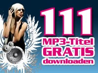 111 Songs (MP3 Titel) gratis downloaden bei Pearl, Musik aus den aktuellen Charts und andere Titel