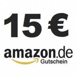Amazon Gutschein 15 Euro Saturn