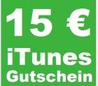 15,00 Euro iTunes Gutschein für 9,99 Euro bei ebay