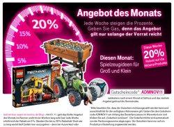 20% auf Spielwaren im t-online.de – Shop
