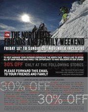 30% auf alles im The North Face® Store – Berlin / Kudamm 219