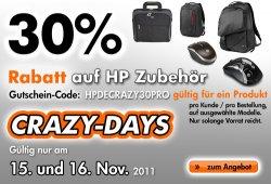 30% Gutschein auf Zubehör HP Store