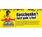 50€ Gutschein bei ProMarkt!