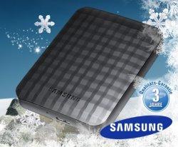 64,95 Euro statt 129 Euro –  externe Samsung-Festplatte M2 Portable HX-M750UAB mit 750GB bei Dailydeal.de