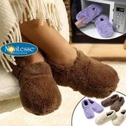 Ab Donnerstag (10.11) bei Aldi Nord: Mikrowellen Pantoffeln für 5,99 €
