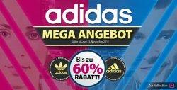 Adidas Sale bei Plutosports: bis zu 60% Rabatt auf Schuhe und Klamotten