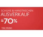 Amazon bis zu 70% auf Schuhe und Handtaschen!