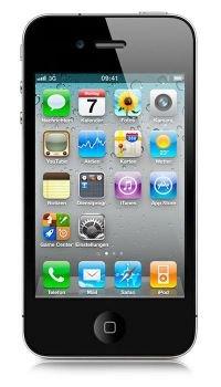 Apple iPhone 4 8GB für einmalig 9 Euro mit Vertrag (17,95 Grundgebühr) bei logitel
