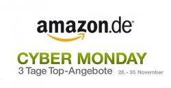 3 Tage Cyber-Monday Angebote bei amazon, jeweils von 9 Uhr bis 23 Uhr, vom 28. bis 30. November 2011