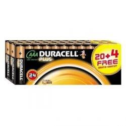 Duracell Batterie Plus Micro AAA 24 Stück für 9,49€ versandfrei bei Amazon