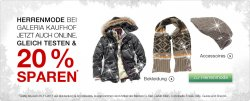 Galeria Kaufhof: Fashion-Sales