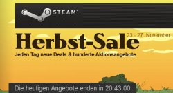 Herbstsale bei Steam: Jeden Tag neue Deals und hunderte Aktionsangebote