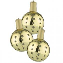 12x LED Lichterglanz Weihnachtskugeln Weihnacschmuck kabellos 22,99€ inkl. Versand bei eBay