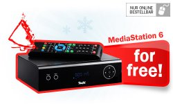 Media Station 6 kostenlos ( Wert 199€ ) ab einem Einkauf von 399 Euro von nicht reduzierter Ware bei Teufel.de