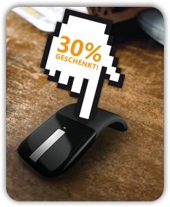 Microsoft: 30 % Rabatt/Cashback auf verschiedene Hardware-Produkte für Studenten (Kaufdatum: 19.10.2011 – 31.01.2012)