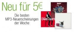 MP3-Album-Neuheiten der Woche für 5 EUR – u.a. Rihanna, Nickelback, M.Jackson uvw.