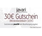 Neuer 30 EUR Gutschein für javari.de (Schuhshop von Amazon) mit MBW von 100 EUR