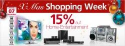 Nur heute 15% Rabatt auf Home-Entertainment bei Neckermann