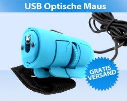 Optische USB-Fingermaus für nur 3,95 incl. Versand – 70% Rabatt