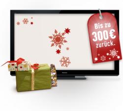 Panasonic TV: Bis zu 300 € Cashback