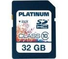 Platinum SDHC Speicherkarte mit 32GB, Class10 für nur 21,70 Euro versandkostenfrei bei voelkner.de
