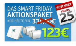 Smart Friday Superdeal – RWE SmartHome Einsteigerpaket für 123,- €
