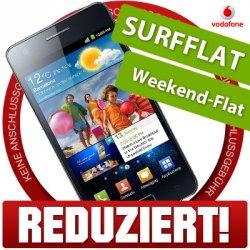 Samsung Galaxy S2 für 0€ monatliche GG 14,95€ (Vodafone SuperFlat Internet Wochenende) bei ebay