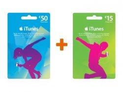 Solange Vorrat reicht: 15 € iTunes kostenlos beim Kauf einer 50 € Karte bei gravis.de
