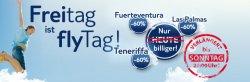 Tui-fly – bis Sonntag noch 60 % Rabatt für Flüge auf die Kanaren – Gran Canaria, Fuerteventura, Teneriffa