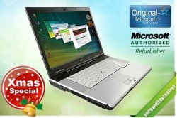 Xmas-Special: 249 statt 1450 € – Fujitsu Siemens Lifebook E8310 Refurbished Notebook + Docking-Station bei Groupon.de