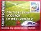 10€ – Gutschein der Deutschen Bahn