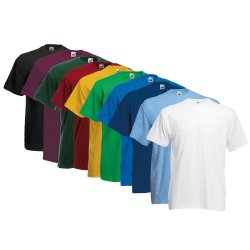 10x FRUIT OF THE LOOM T-Shirts – bei ebay für nur 22,22€