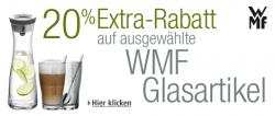 20% Extra-Rabatt auf WMF Glasartikel bei amazon