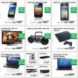 20% Rabatt auf Technik + 20,- Euro Gutschein bei Interspar.at