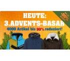3. Adventsbasar bei 4clever.de 4000 Klamotten/Schuhe bis 90% reduziert